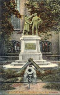Kolberg, Nettelbeck-Gneisenau-Denkmal
