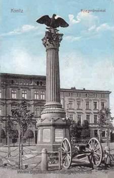 Konitz, Kriegerdenkmal