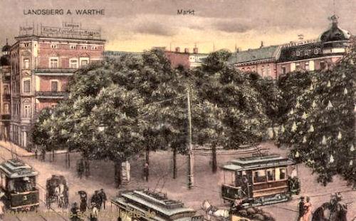 Landsberg a. W., Markt