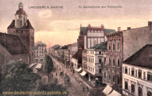 Landsberg a. W., St. Marienkirche, Richtstrasse