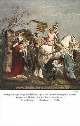 Die Brauteinholung in Landshut