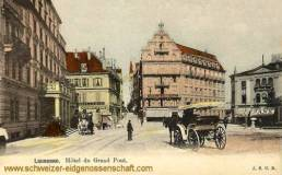 Lausanne, Hôtel du Grand Pont