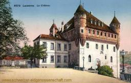 Lausanne, Le Château