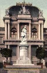 Lausanne, Tribunal Federal et Monument Tell
