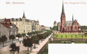 Lehe, Hafenstraße, Neue Evangelische Kirche