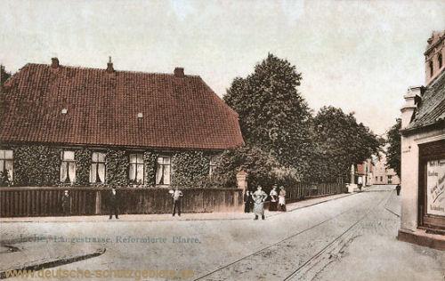 Lehe, Langestraße, Reformierte Pfarre.