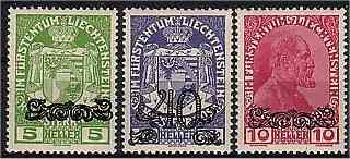 Fürstlich Liechtensteinische Post (1920)