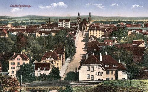 Ludwigsburg, Stadtansicht