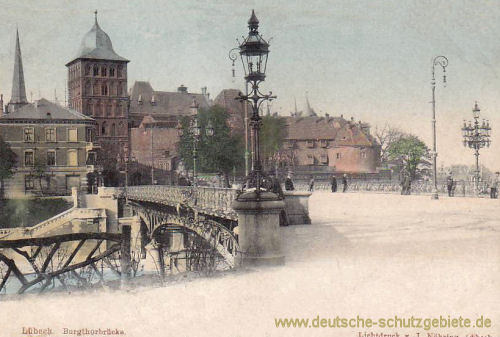 Lübeck, Burgtorbrücke