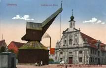 Lüneburg, Kaufhaus und Krahn