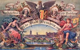 Mannheim, 300. Jahrestag