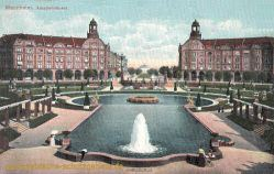 Mannheim, Arkadenhäuser
