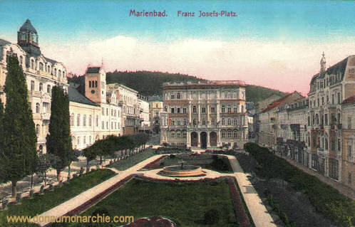 Marienbad, Franz Josefs-Platz