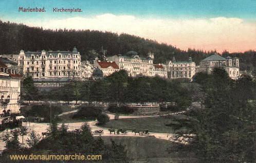 Marienbad, Kirchenplatz