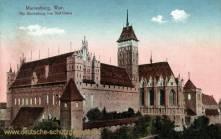 Marienburg, Wpr., Die Marienburg von Süd-Osten