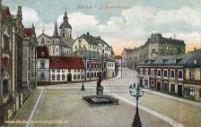 Meerane i. S., Bismarck-Platz und Straße