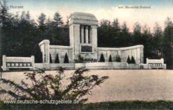 Meerane i. S., Wilhelm Wunderlich-Denkmal