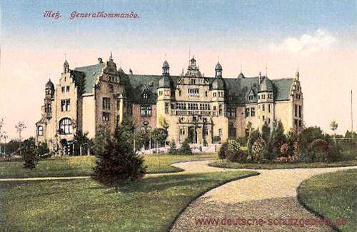 Metz, Generalkommando