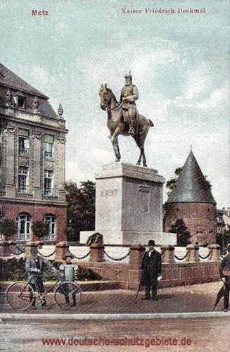 Metz, Kaiser Friedrich Denkmal
