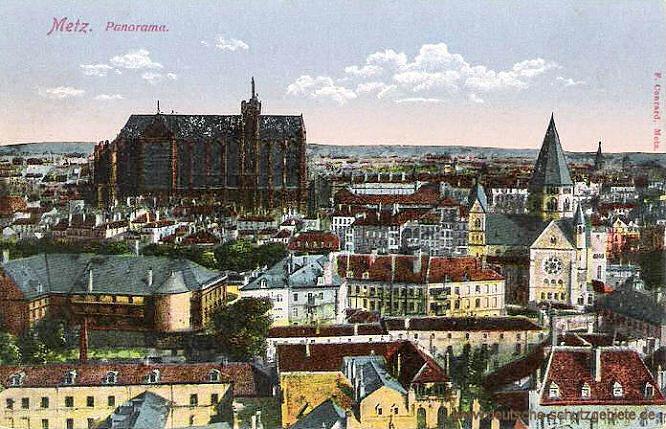 Metz, Panorama