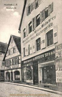 Mosbach, Hauptstraße