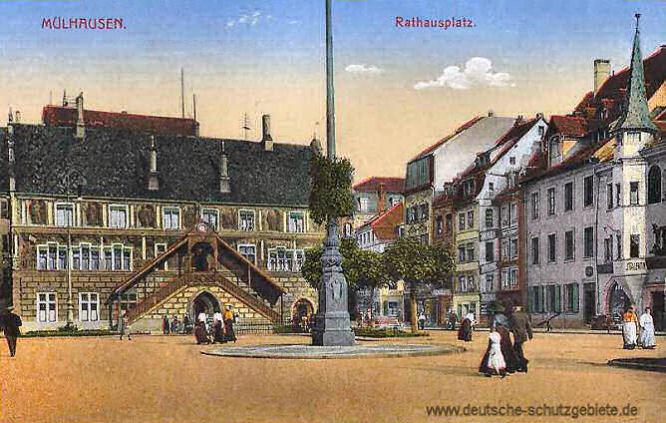 Mülhausen, Rathausplatz