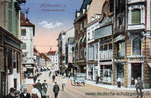 Mülhausen i. E., Wildemannstraße