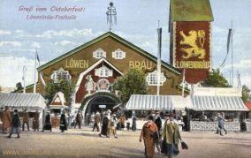 München, Löwenbräu Festhalle - Grüße vom Oktoberfest