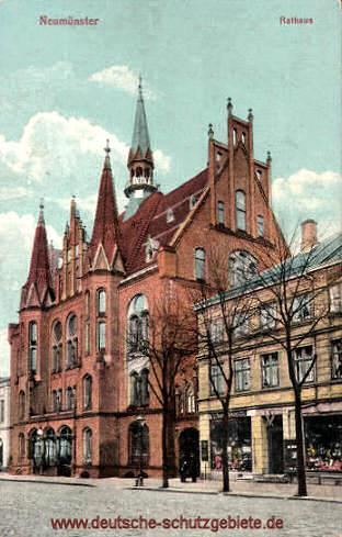 Neumünster, Rathaus