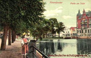 Neumünster, Partie am Teich