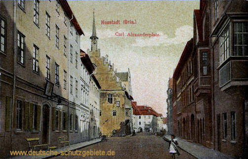 Neustadt an der Orla, Carl Alexanderplatz