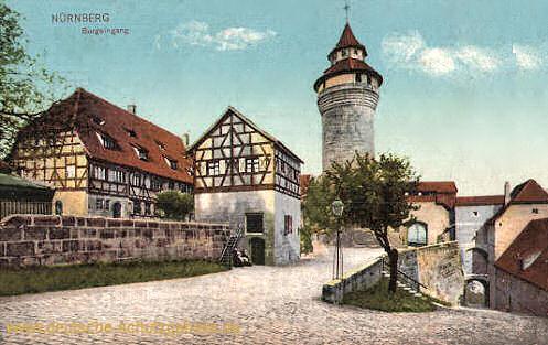 Nürnberg, Burgeingang