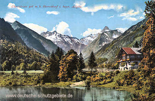 Christlessee 916 m bei Oberstdorf i. bayr. Allgäu
