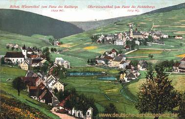 Böhmisch-Wiesenthal und Oberwiesenthal
