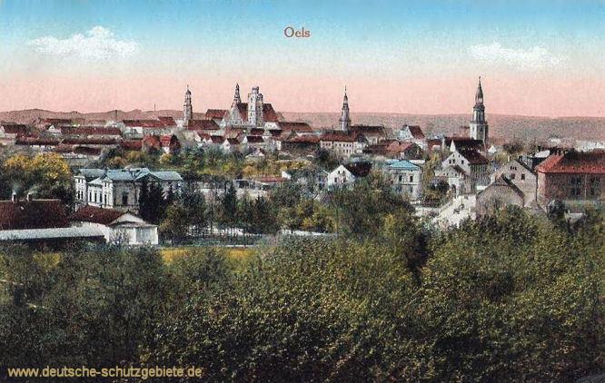 Oels, Stadtansicht