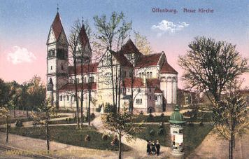Offenburg, Neue Kirche