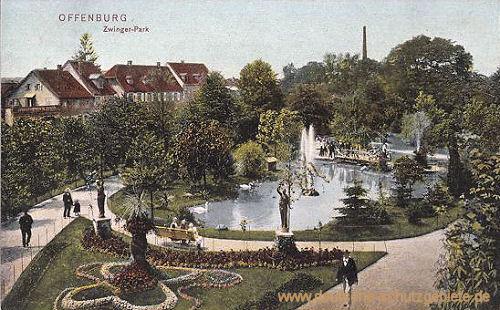 Offenburg, Zwinger-Park
