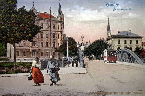 Olmütz, Bahnhofstraße