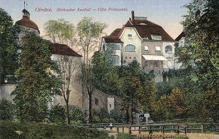 Olmütz, Michaeler Ausfall - Villa Primavesi
