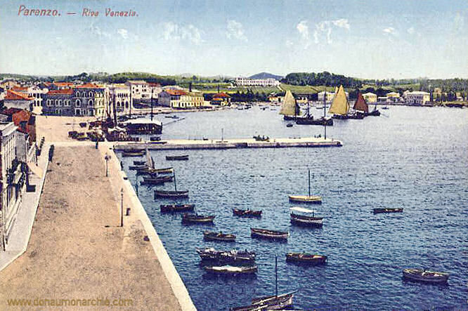 Parenzo, Riva Venezia