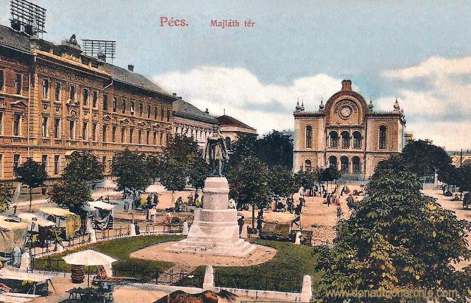 Fünfkirchen (Pécs), Majláth tér (Majláth Platz)