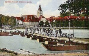 Pettau, Pionier-Brückenschlag