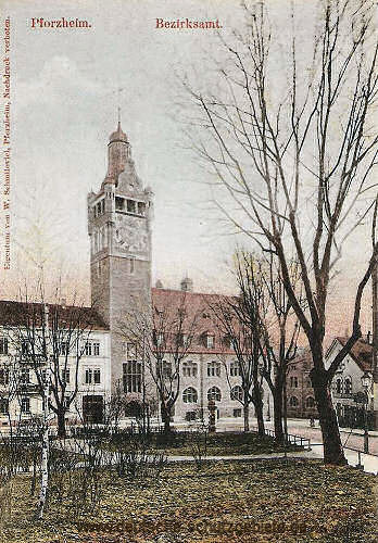 Pforzheim, Bezirksamt