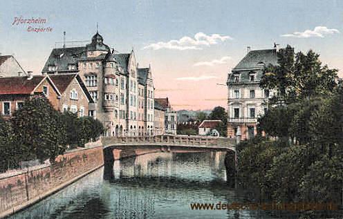 Pforzheim, Enzpartie
