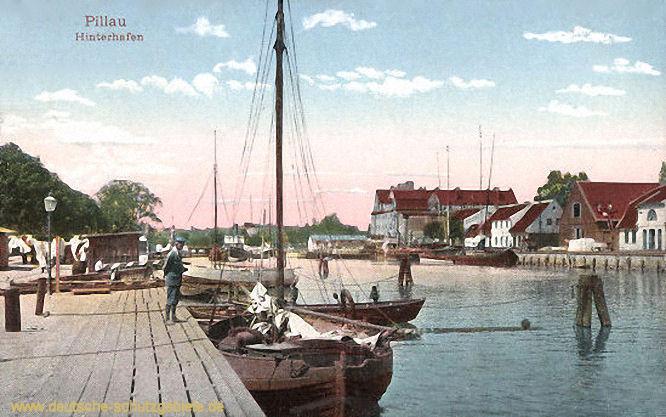 Pillau, Hinterhafen