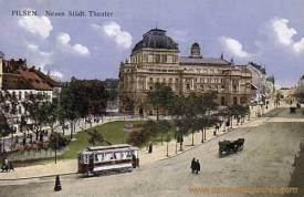 Pilsen, Neues Städtisches Theater