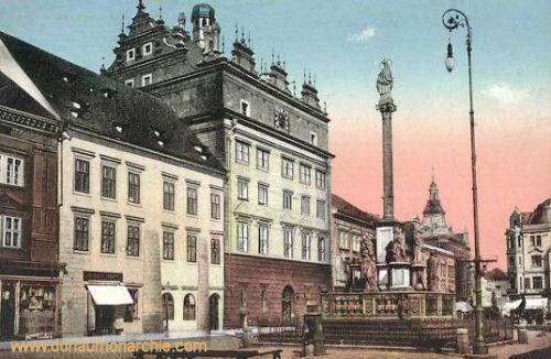 Pilsen, Rathaus mit Kaiserlichem Haus