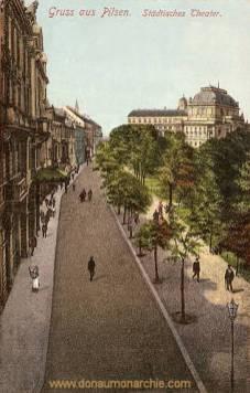 Pilsen, Städtisches Theater