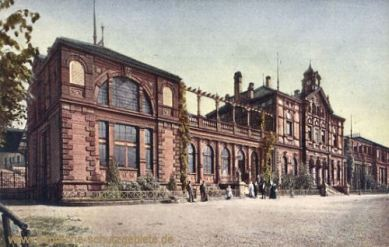 Pirmasens, Bahnhof