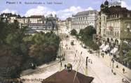Plauen, Bahnhofstrasse und Café Trömel